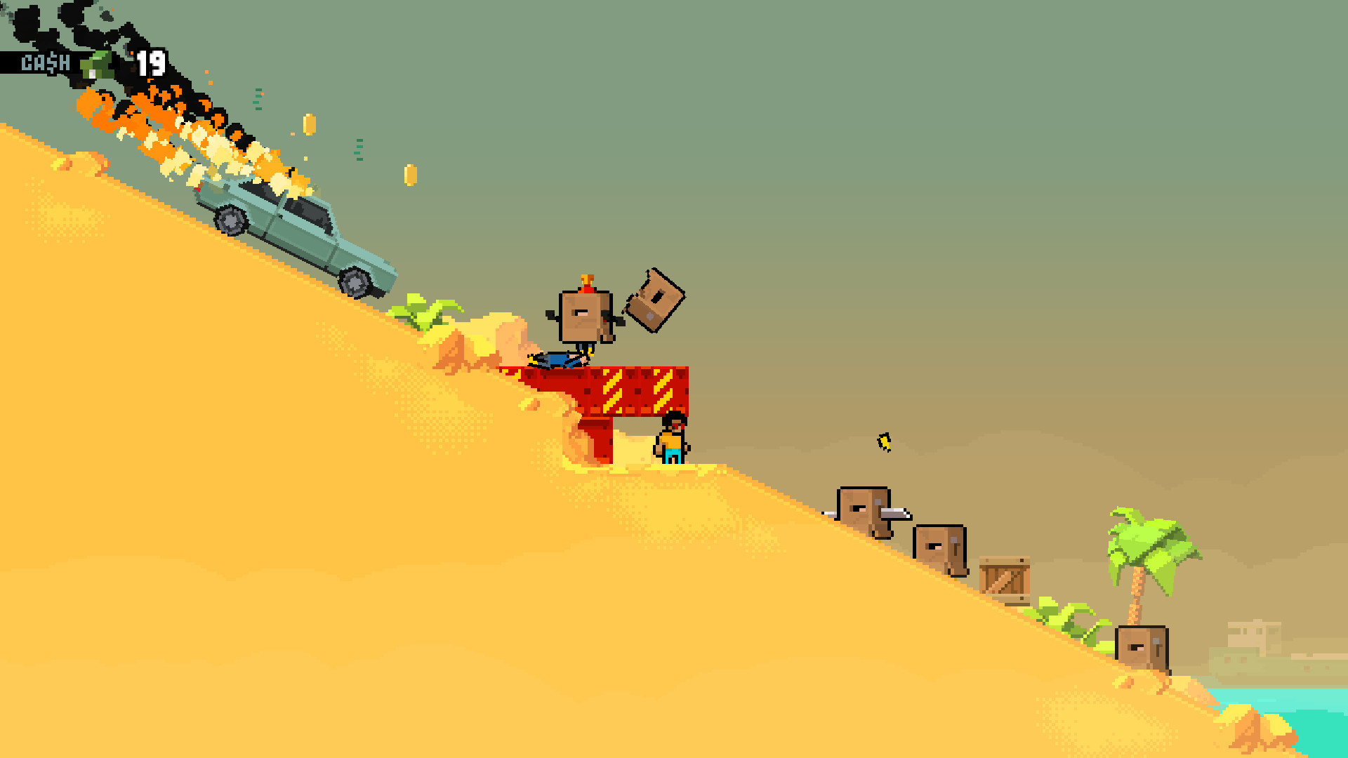 Shootout on Cash Island Screenshot 1
