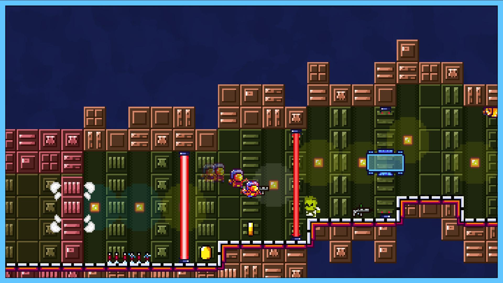DEEP SPACE | Space-Platformer Screenshot 1