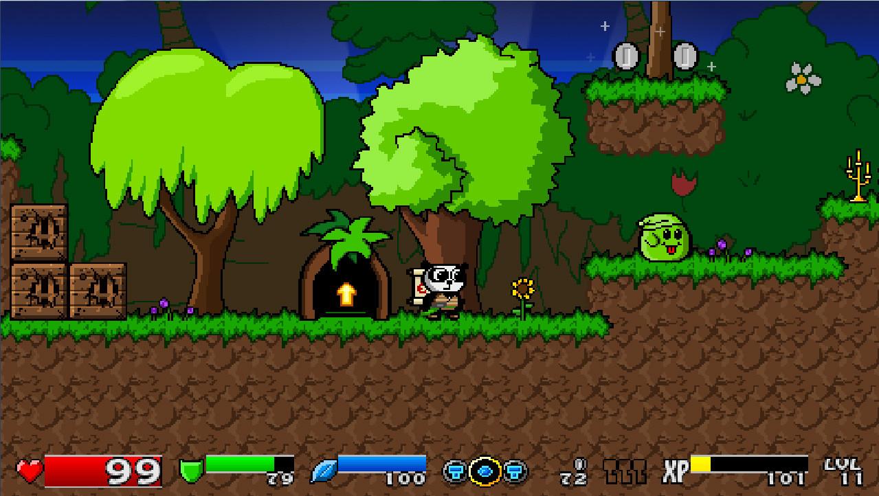 Super Panda Adventures Keyfarm