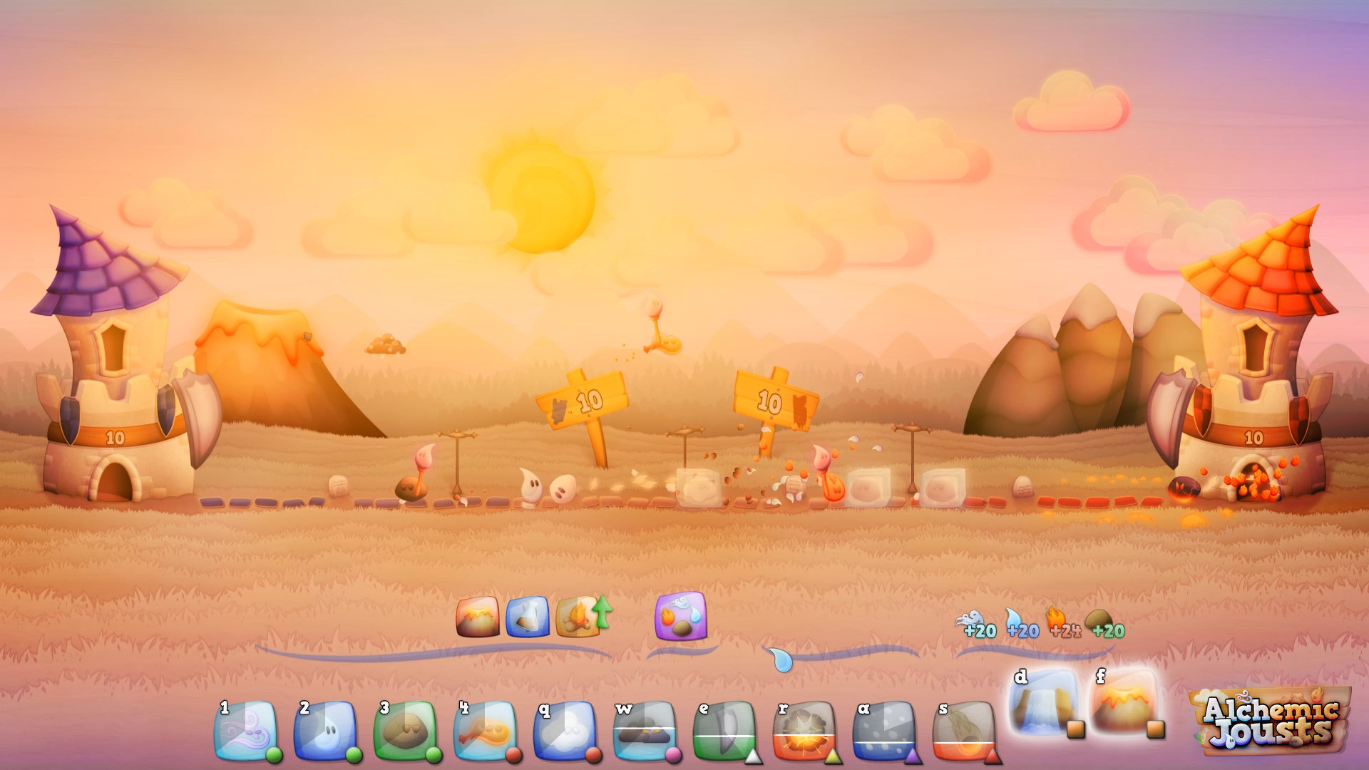 Alchemic Jousts Screenshot 1